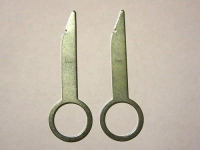 Инструмент для снятия магнитол тип Б